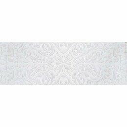 Керамическая плитка - Декор Stazia white белый 01 30х90 (5шт), 0
