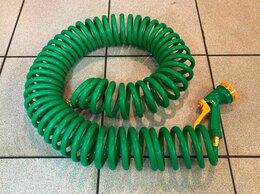 Шланги и комплекты для полива - Спиральный шланг с распылителем(17м.), 0