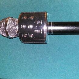 Портативная акустика - Микрофон колонка, 0