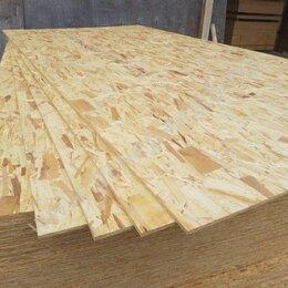 Древесно-плитные материалы - OSB- 9мм 1250х2500, 0