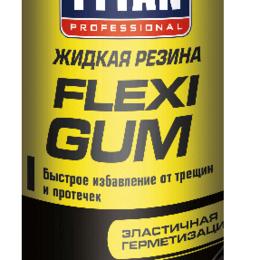 Для железнодорожного транспорта - Влаго-, гидроизоляторы TYTAN Жидкая Резина TYTAN Professional Flexi Gum, 400 мл, 0