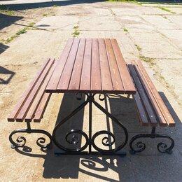 Комплекты садовой мебели - Садовая мебель, лавочка, скамейка, стол, 0