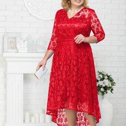 Платья - Платье 5678 NINELE красное Модель: 5678, 0