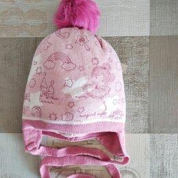 Головные уборы - Детская шапка Barbaras зимняя с помпоном , 42-44, 0