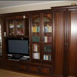 Шкафы, стенки, гарнитуры - Мебельная стенка алмаз натуральный шпон, 0