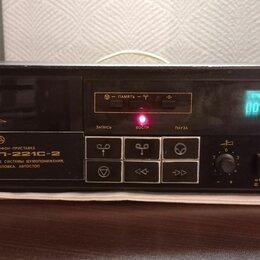 Музыкальные центры,  магнитофоны, магнитолы - Кассетная дека Яуза MП-221С-2, 0