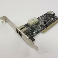 Сетевые карты и адаптеры - IEEE 1394 (FireWire, i-Link) IOFW873-2 на 3 порта (2 ext +1 int) с питанием, 0