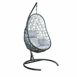 Подвесные кресла - Подвесное кресло LESET АЖУР чёрное, 0