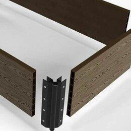 Заборчики, сетки и бордюрные ленты - Теплые грядки из дпк 150*25; 300*30 от производителя (White Deck), 0