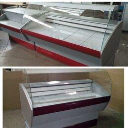 Мебель для учреждений - Стеклянная витрина холодильная, 0