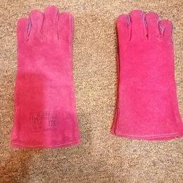 Средства индивидуальной защиты - Краги сварщика перчатки , 0