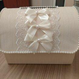 Свадебные украшения - Казна для денег на свадьбу (сундук для денег свадебный), 0