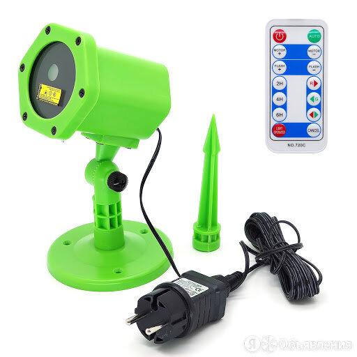 Лазерный проектор ОГОНЕК OG-LDS08 по цене 1750₽ - Уличное освещение, фото 0