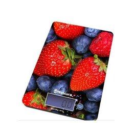 Кухонные весы - Весы кухонные Sakura SA-6075B 8кг ягоды, 0