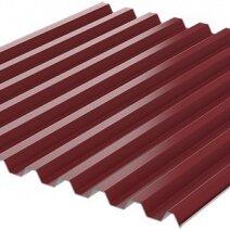 Кровля и водосток - Профнастил С-21 RAL3005 Красное Вино ш1.07м т0.50мм ГОСТ, 0
