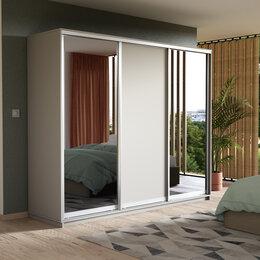 Шкафы, стенки, гарнитуры - Шкаф-купе с зеркалами, 0