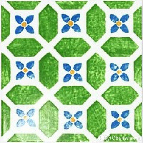 Керамическая плитка TUBADZIN Декор Вставка MAJOLIKA AVIGNON 14 20X20 по цене 308₽ - Керамическая плитка, фото 0