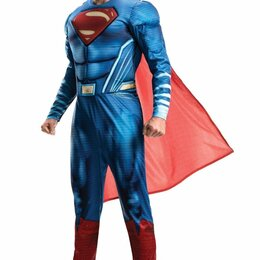 Карнавальные и театральные костюмы - Костюм супермена взрослый, 0