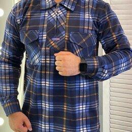 Рубашки - Мужские флисовые рубашки р-ры 46-58, 0