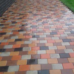 Тротуарная плитка, бордюр - Тротуарная плитка, бордюры, водостоки, укладка плитки , 0