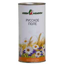Газоны - Смесь семян цветов GREEN MEADOW Русское поле, 0