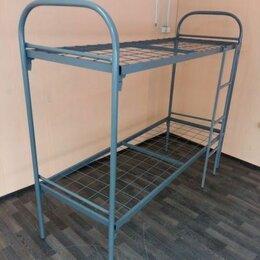 Кровати - Кровать металлическая двухъярусная , 0