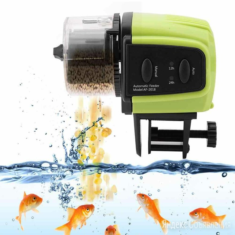 Автоматическая кормушка для рыб  по цене 950₽ - Миски, кормушки и поилки, фото 0