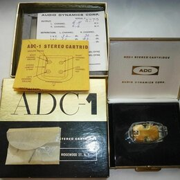 Аксессуары для проигрывателей виниловых дисков - Картридж ADC-1 NOS, 0