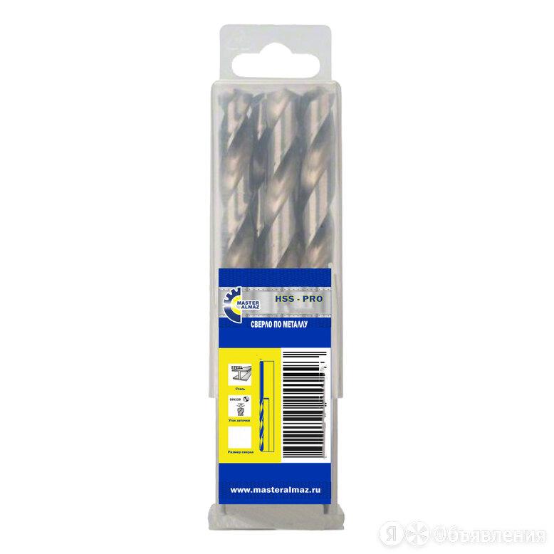 Сверло по металлу МастерАлмаз 10503082 по цене 659₽ - Для дрелей, шуруповертов и гайковертов, фото 0