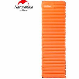 Походная мебель - Коврик туристический NATUREHIKE Ultralight TPU Sleeping Pad L (Sun orange), 0