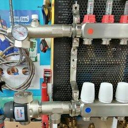 Комплектующие для радиаторов и теплых полов - Смесительный узел для теплого пола водяного, 0
