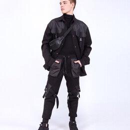 Брюки - Брюки подростковые для мальчика. Цвет черный. Stillini™, 0