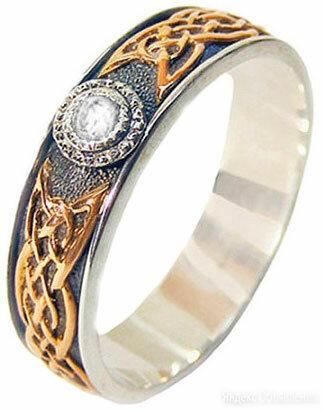 Обручальное кольцо Persian KSZ012-CIRKON_18-5 по цене 11360₽ - Комплекты, фото 0