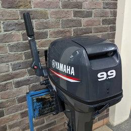 Двигатель и комплектующие  - Лодочный мотор yamaha 9.9 GMH 2 тактный, 0