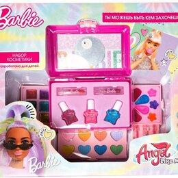 """Детям - Набор косметики для девочек Barbie """"Сундучок"""", 0"""