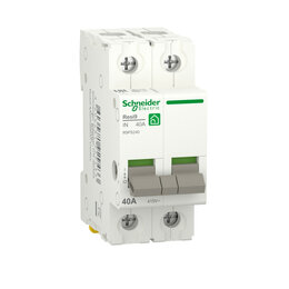 Электроустановочные изделия - SE RESI9 Выключатель нагрузки (мод. рубильник) 40А 2П R9PS240 RESI9 Schneider..., 0