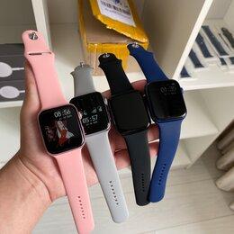 Умные часы и браслеты - AppleWatch 6 Новые + видео обзор(m26+), 0