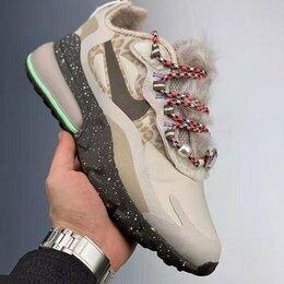 Кроссовки и кеды - Кроссовки Nike Air Max 270 React теплые, 0