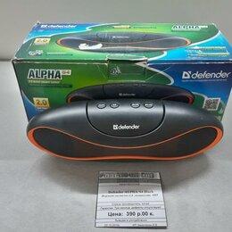 Комплекты акустики - Портативная акустика Defender Alpha S4 Black, 0