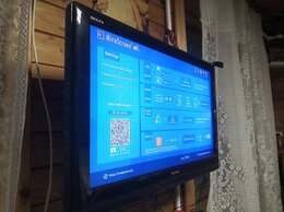 Телевизоры - Хороший LCD ЖК Телевизор с HDMI Toshiba 32 дюйма, 0
