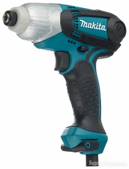 Ударный шуруповерт-гайковерт Makita TD0101 по цене 4000₽ - Гайковерты, фото 0