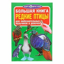 Словари, справочники, энциклопедии - Большая книга Редкие птицы 277100, 0