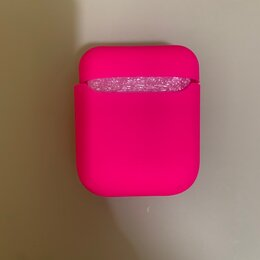 Аксессуары для наушников и гарнитур - Чехол soft touch для кейса apple airpods, 0