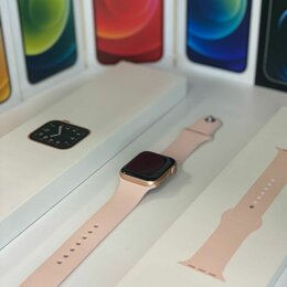Умные часы и браслеты - Часы Apple Watch SE 40 Pink Sand, 0