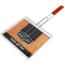 Решетки - Решётка-гриль для мяса, 24 х 27 х 55 см, Lux, малая, 0