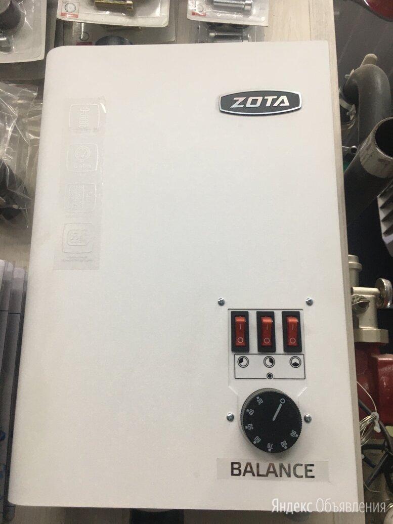 Электрокотел zota balance 6 квт по цене 10500₽ - Отопительные котлы, фото 0