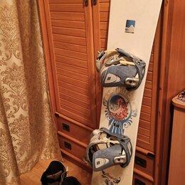 Сноуборды - Сноуборд Nidecker 156 комплект, 0