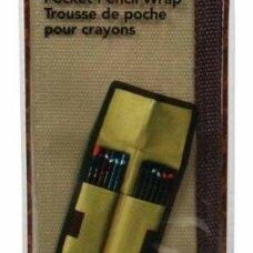 """Канцелярские принадлежности - Пенал для карандашей Derwent """"Pocket Wrap"""", карманный, 0"""