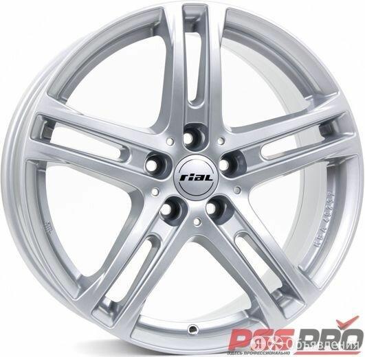 Колесный диск Rial Rial Bavaro 6,5x16 5x114,3 ET 50 Dia 70,1 (Polar silver) по цене 8660₽ - Шины, диски и комплектующие, фото 0