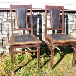 Стулья, табуретки - Деревянный стул старинный ретро винтаж, 0